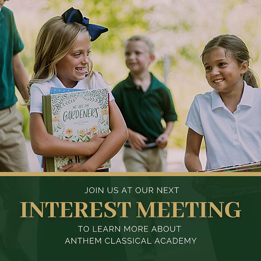 Anthem Interest Meeting