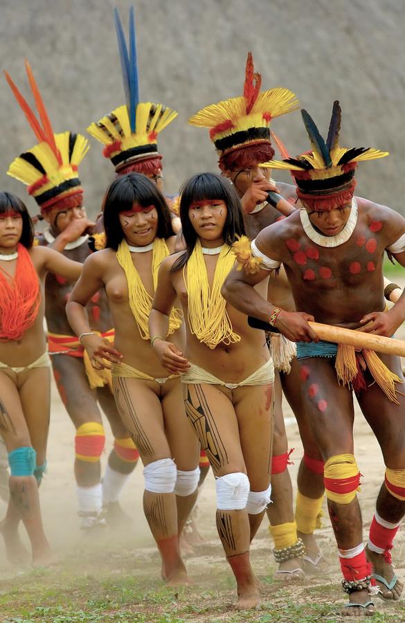 Kamaiura ceremony / Brazil - Amazon