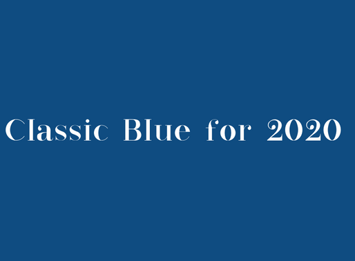 "What is this ""Classic Blue""?"