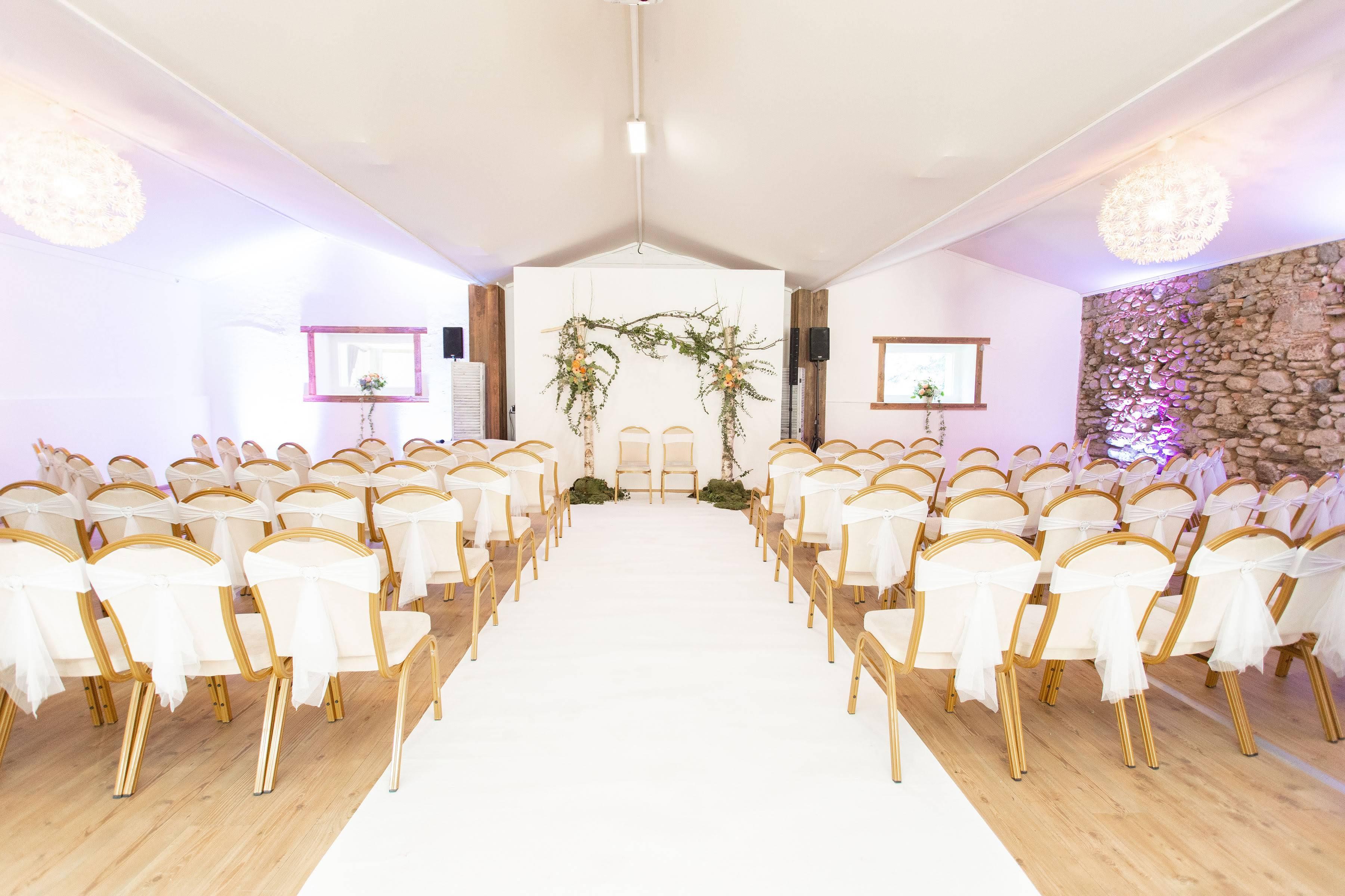 salle ceremony