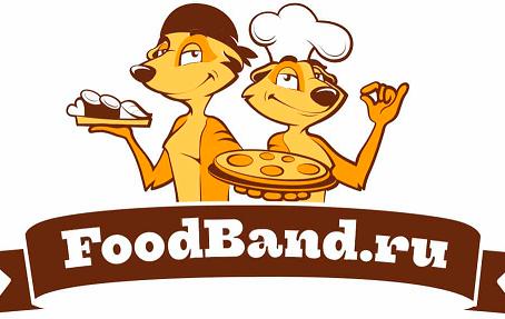 FoodBand промокод на 4 пиццы по цене двух.