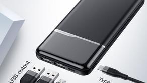 Power Bank 10000mAh Портативное зарядное устройство со скидкой 50%