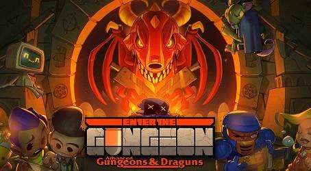 Бесплатная игра ENTER THE GUNGEON Раздача до 27.08.20