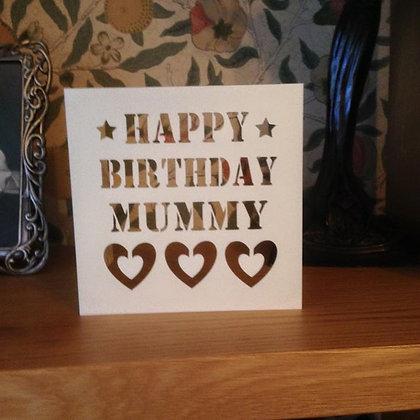 C31 - Happy Birthday Mummy