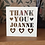 Thumbnail: C29 - Thank You Personalised - Hearts