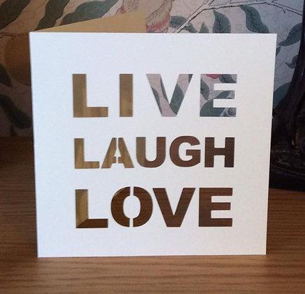 C25 - Live, Laugh, Love