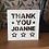 Thumbnail: C41 - Thank You Personalised - Stars