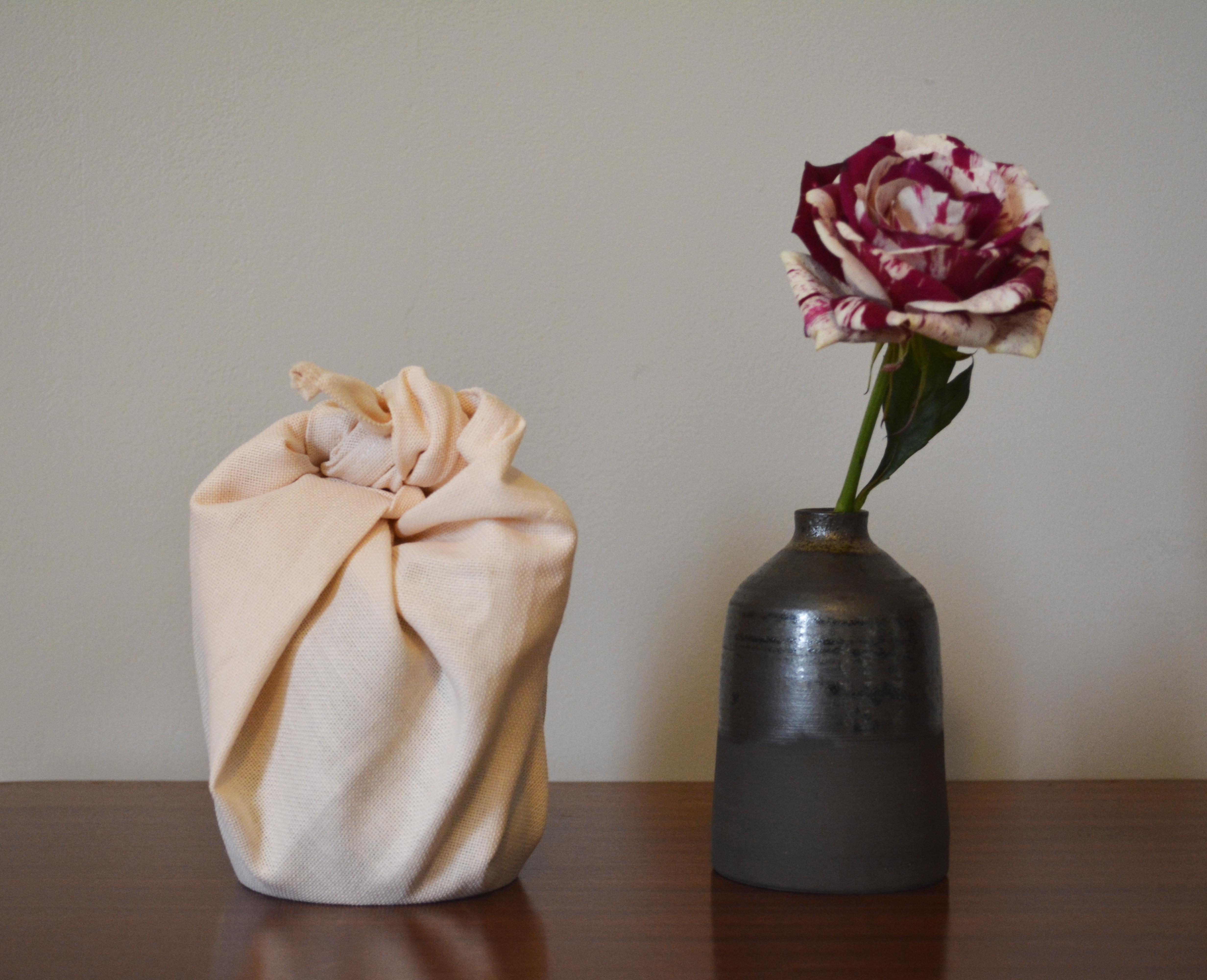 emballage et vase