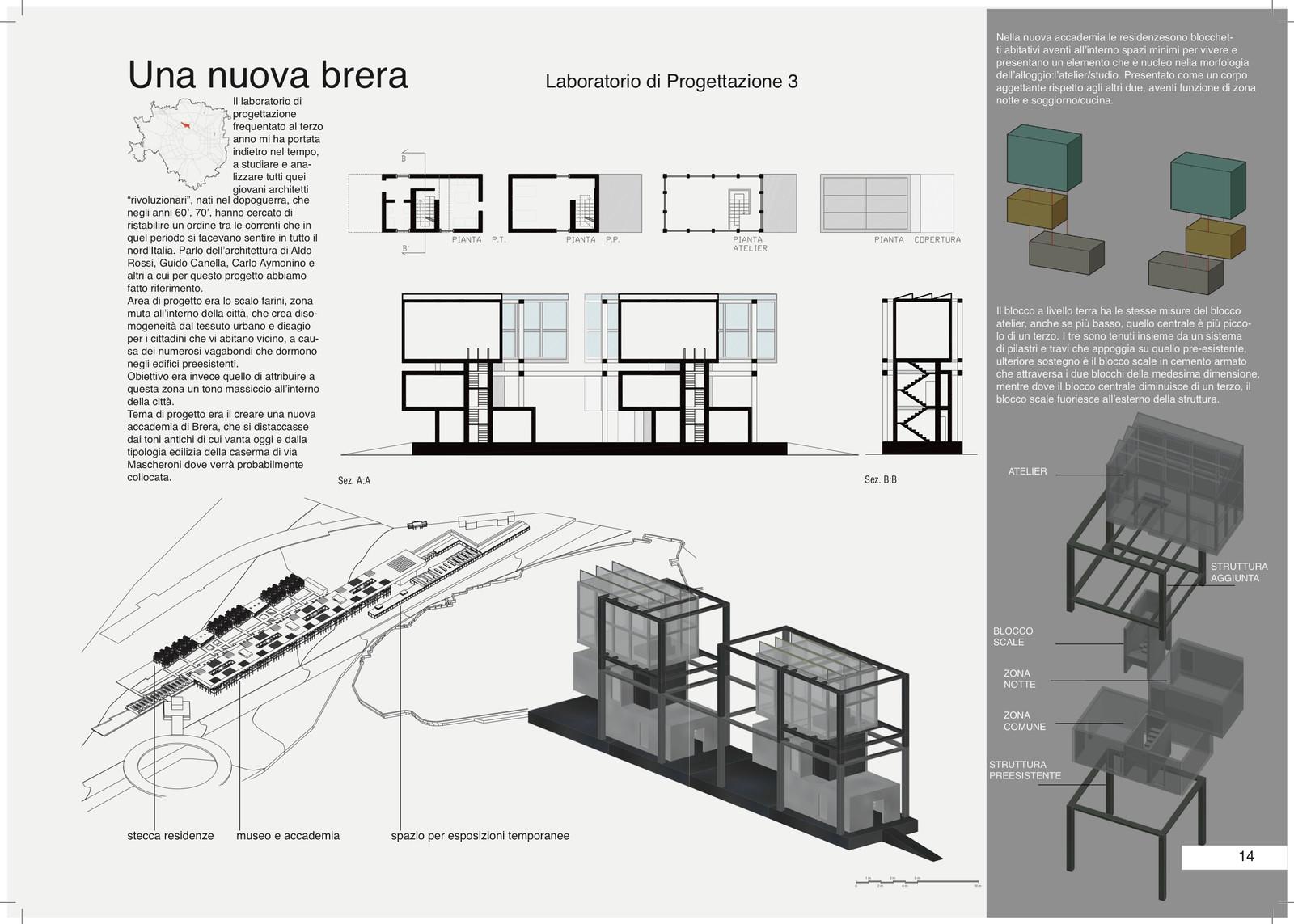 Copertura Scale Interne.Nuova Accademia Di Brera