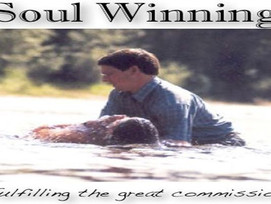 INSPIRATION: Soul Winning Is Partnering With God For All-round Advancements