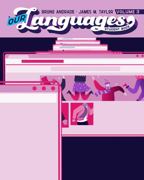 Animação para realidade aumentada Our Languages V3