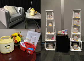 Mother's Rooms at Conferences, Special Events, and Holiday Parties