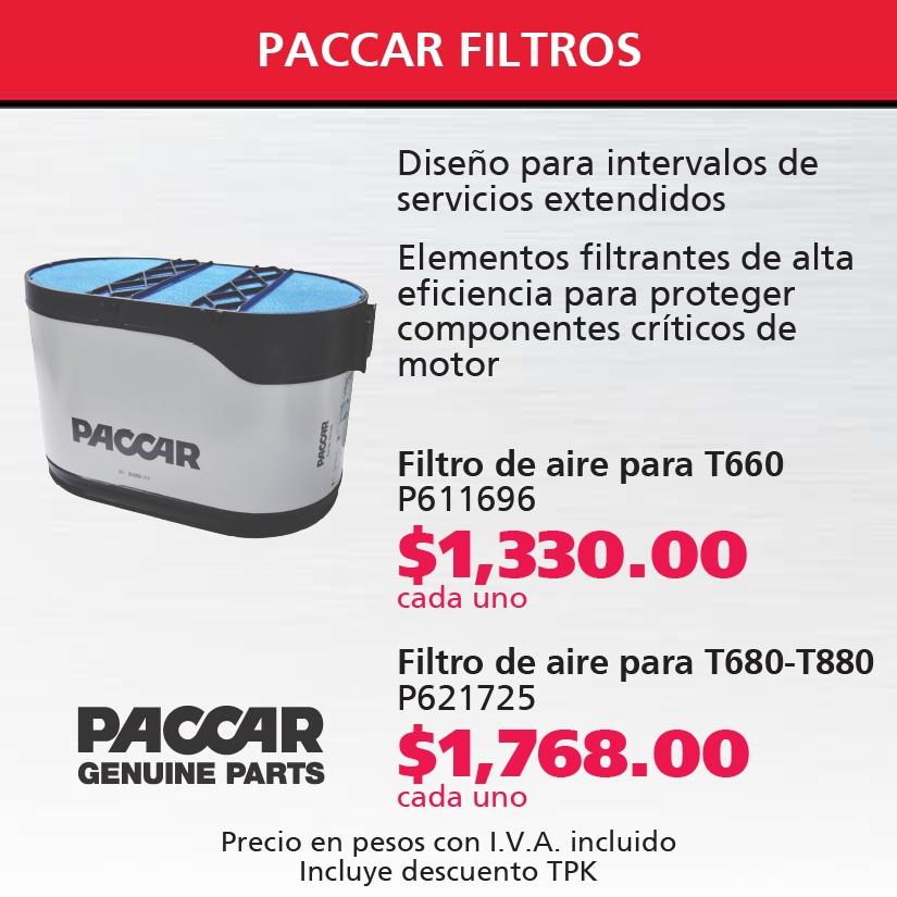 Filtros Paccar