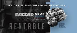 Motor Paccar MX RENTABLE