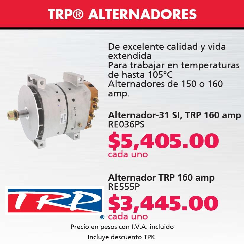 Alternador TRP