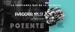 Motor Paccar MX POTENTE