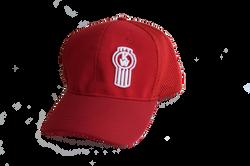 Gorra Daytona Roja - logo Kw