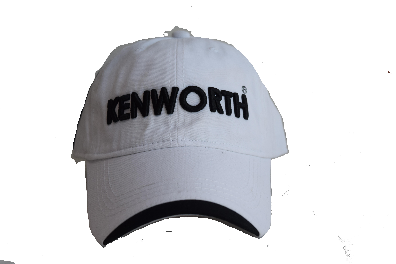 Gorra Francés Blanca - Kenworth
