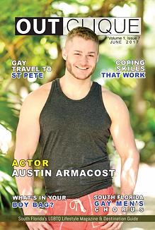 Outclique magazine cover June 2017