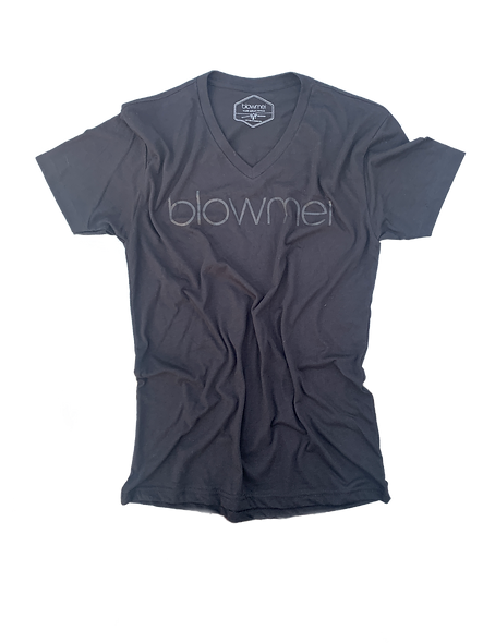 blowmei ultra soft v- neck t-shirt