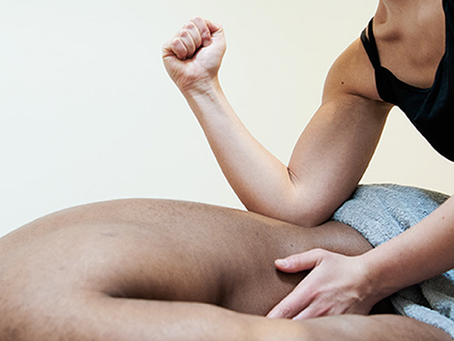 IT'S TIME FOR A DEEP TISSUE MASSAGE!