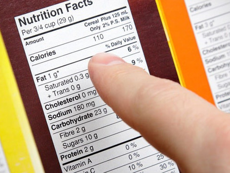 HOW TO BETTER UNDERSTAND YOUR FOOD LABELS