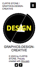 Portfolio website templates – Graphic Design