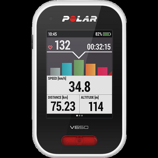 POLAR V650 CICLOCOMPUTADOR CON GPS