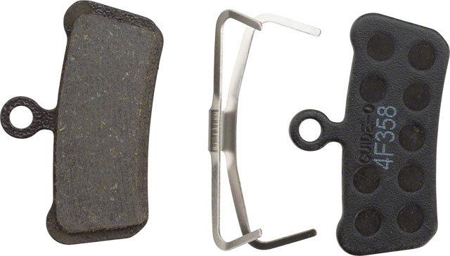 SRAM: Orgánico, respaldo de acero, silencioso, para trail, guía y G2