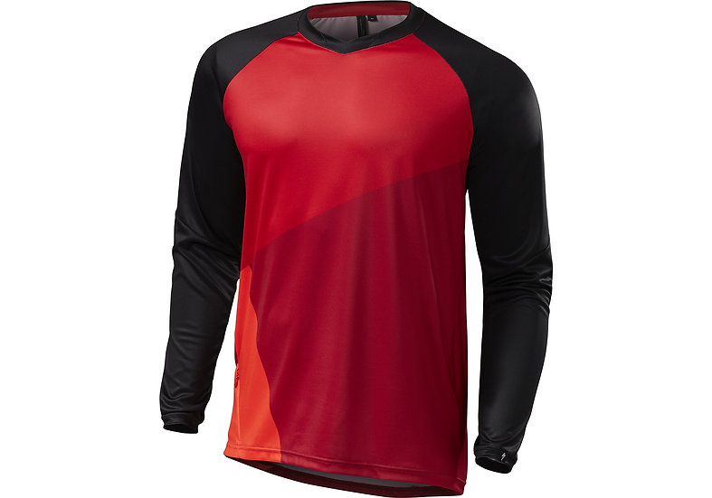 JERSEY SPECIALIZED L DEMO PRO LS RED BLK