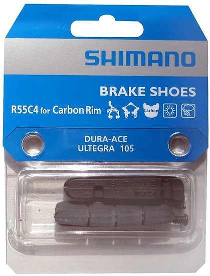 Cauchos de freno R55C4 BR-9000 P/carbon DURA-AC