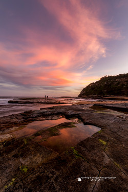 Turrimetta Beach Sunset