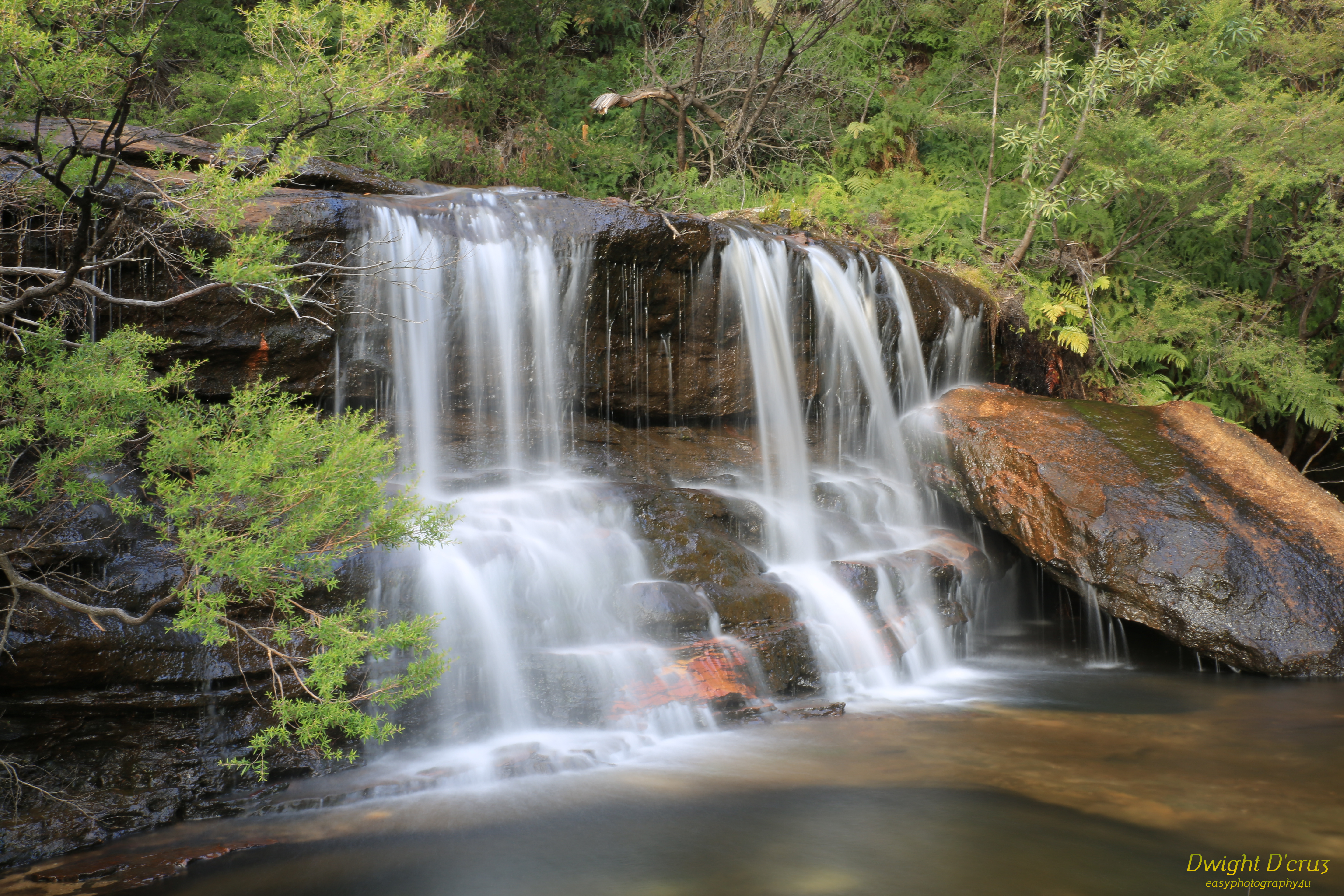 Hunts Creek Waterfall