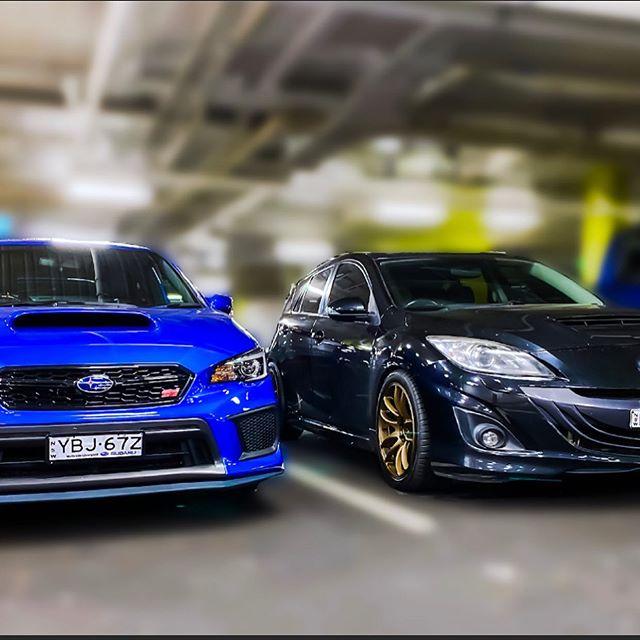 Subaru STI, Mazda MPS