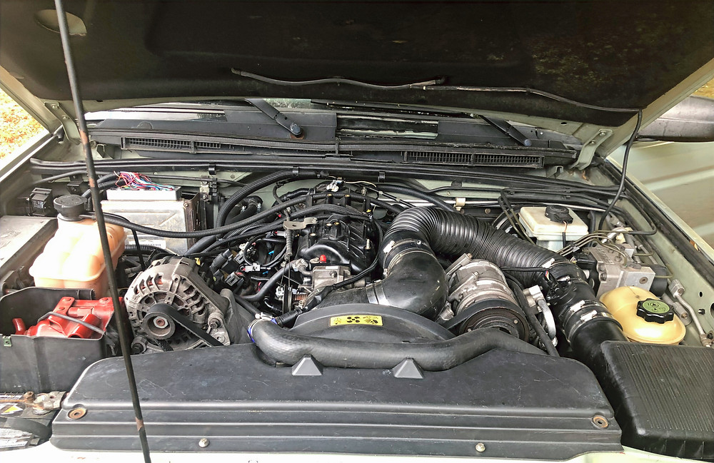 Land Rover Discovery LS V8 Swap