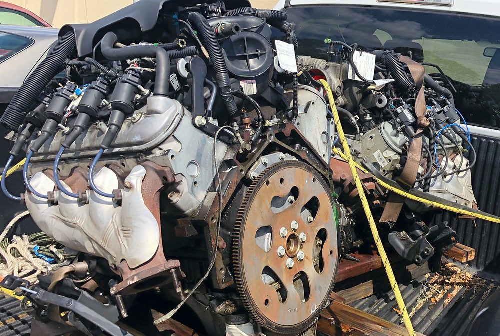 LS LM7 5.3 engine Land Rover Discovery