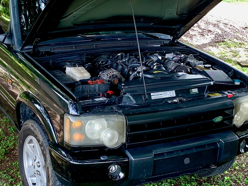 Land Rover Discovery LS Swap