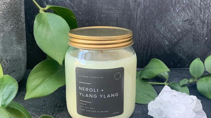 Neroli & Ylang Ylang Candle