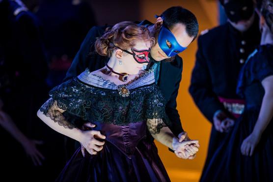Un ballo in maschera, Grange Park Opera, UK 2018