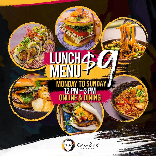 We extend our lunch promotion at weekend