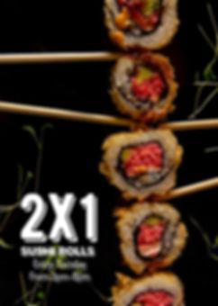 sushi 2x1