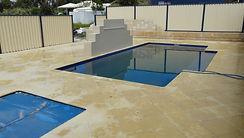 Limestone pool 1