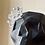 Thumbnail: Large Victor Geode Skull Planter- coal