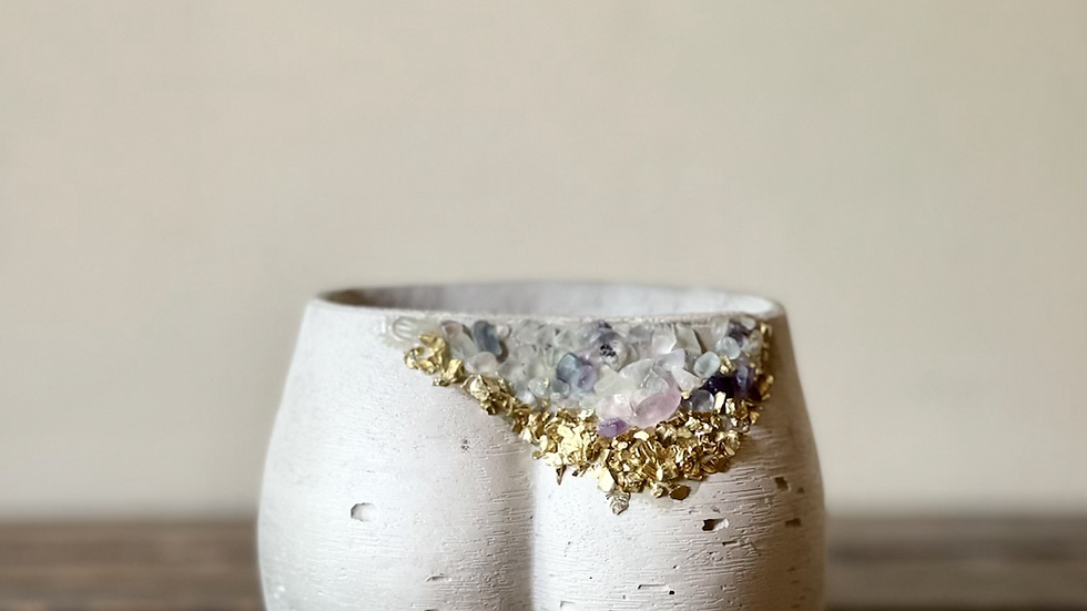 Geode Mini Booty- White