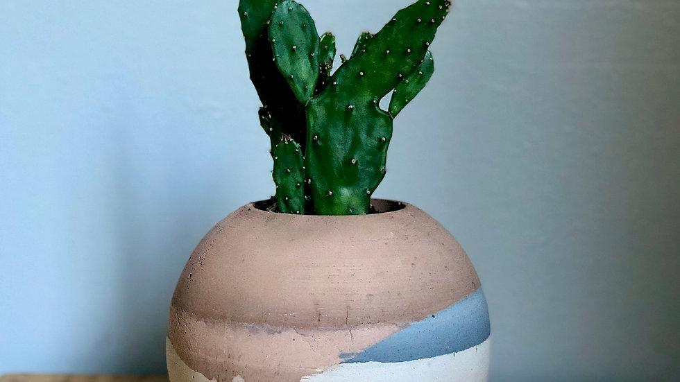 Large Orb Platner or Vases