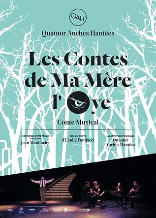 Quatuor Anches Hantées Les contes de ma mère l'Oye
