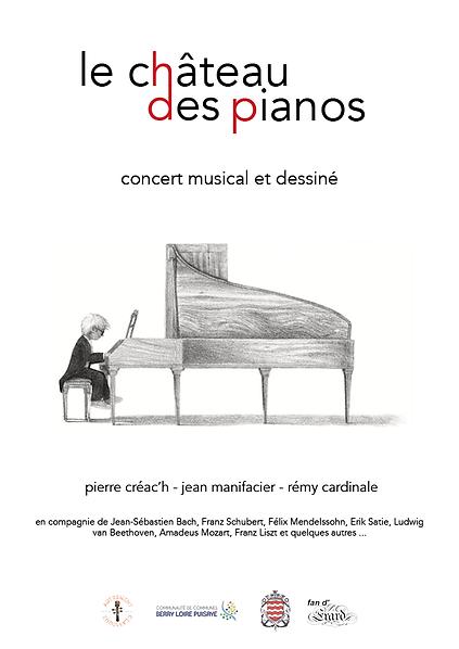 Pierre Créac'h Le château des pianos