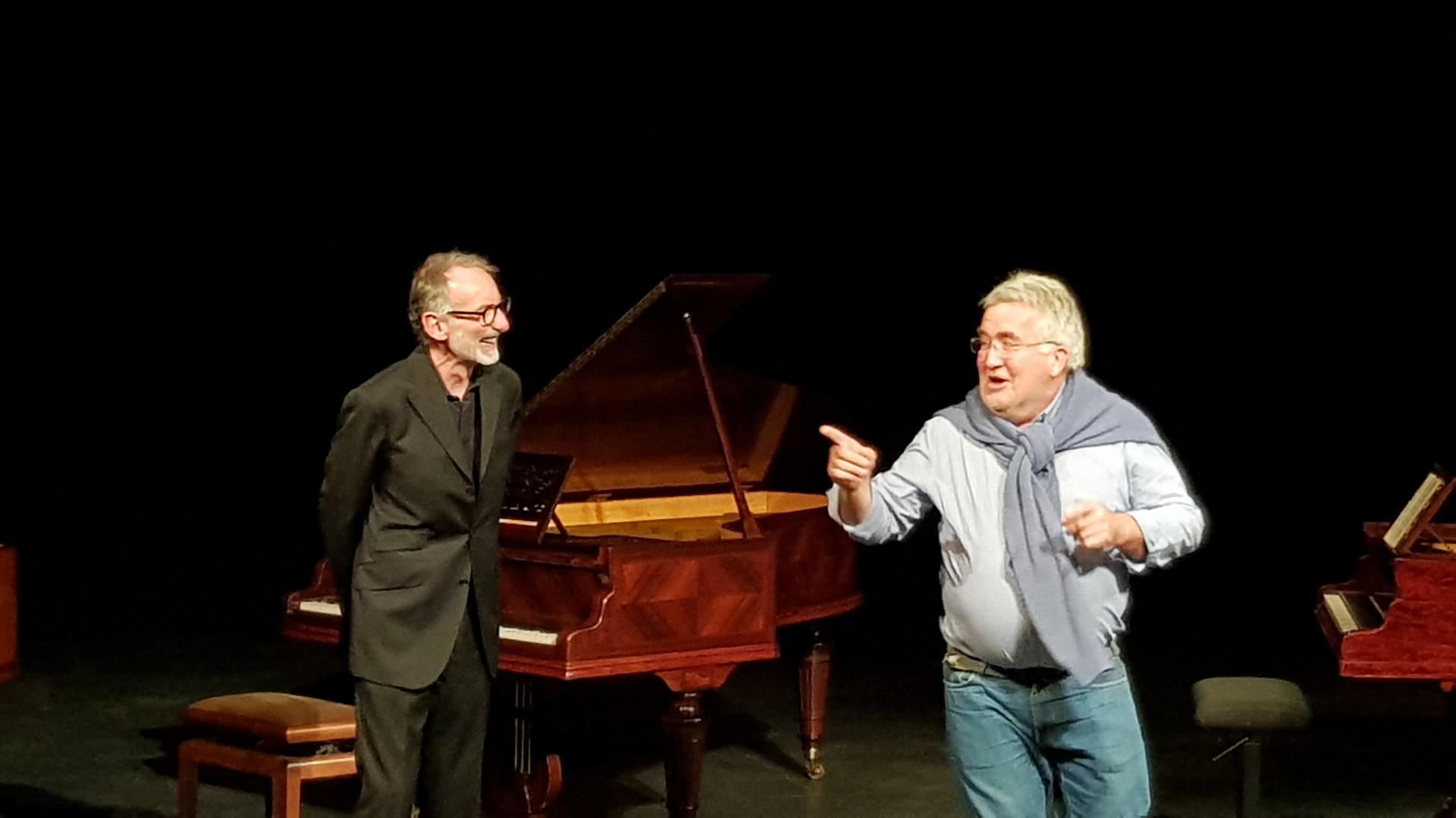 Jean Manifacier et Jean-François Tobias