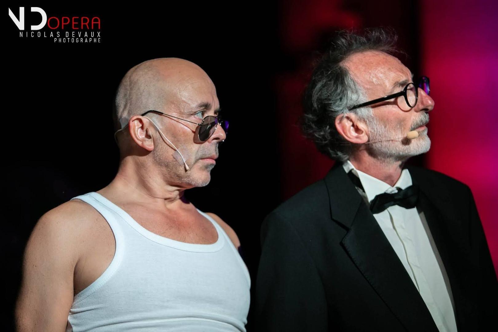Mattieu Lécroart et Jean Manifacier