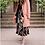 Thumbnail: Jupe longue plissée multicolore simple et audacieuse